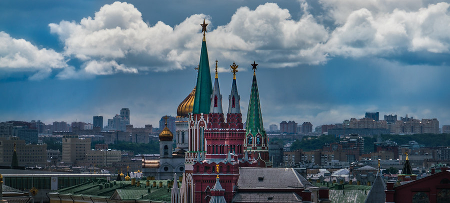 Moscow on a Moody Day