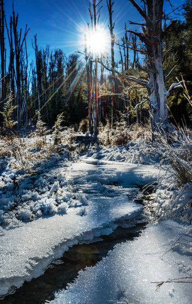 """<h2>Snow over the Creek</h2> <br/>There is a place called Pyramid Lake just past Glenorchy that is perfectly wonderful in the winter as long as you have the traction. This shot is from the end of last winter when I caught a little bit of snow. You'll notice I don't have a ton of snowy shots from NZ yet, but I think I'll get a lot more this winter. I'm really looking forward to some good snowfalls, in fact! I'm sure if you're in the northern hemisphere that you are sick of the cold and ready for the warm… but I really am looking forward to the change!<br/><br/>- Trey Ratcliff<br/><br/><a href=""""http://www.stuckincustoms.com/2013/04/29/snow-over-the-creek/"""" rel=""""nofollow"""">Click here to read the rest of this post at the Stuck in Customs blog.</a>"""