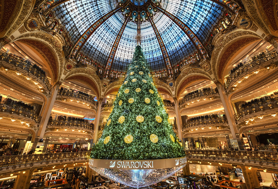 Christmas Tree Paris Galaries Lafayette