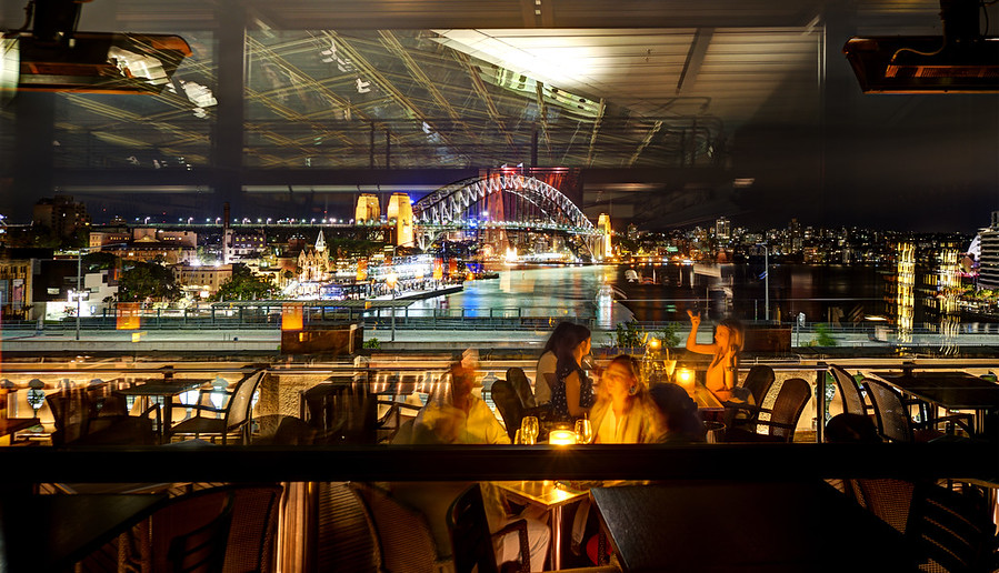 Sydney Through the Glass
