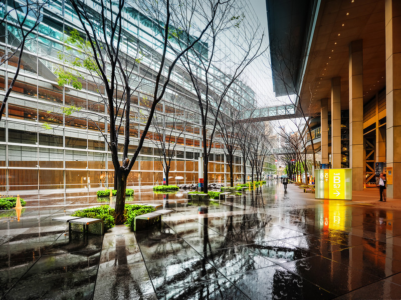 "<h2>A Rainy Scene in Tokyo</h2> <br/>I stayed here one afternoon for a short bit in the shade. I really liked how everything was wet and the background was a clean white with complex lines all over the place. It's hard to explain why I liked the feel of this place — I just did. Part of it was that I like the wet, reflective ground without actually needing to stay in the rain. I love a good rain shot, but I hate standing in the rain! I feel like my mom is always telling me to get out of the rain or I will catch a cold!<br/><br/>- Trey Ratcliff<br/><br/><a href=""http://www.stuckincustoms.com/2013/06/03/a-rainy-scene-in-tokyo/"" rel=""nofollow"">Click here to read the rest of this post at the Stuck in Customs blog.</a>"