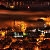 "<h2>Exploring San Francisco from Above</h2> <br/>From on top of Twin Peaks in San Francisco, a good zoom lens when the fog rolls in can get a little crazy! The fog glows orange-red with all the lights and it feels a bit… apocalyptic. I took about 20 shots of this, and the fog would creep around this way and that. They all looked interesting, but in the end, I liked this one the best.<br/><br/>- Trey Ratcliff<br/><br/><a href=""http://www.stuckincustoms.com/2012/08/14/exploring-san-francisco-from-above/"" rel=""nofollow"">Click here to read the rest of this post at the Stuck in Customs blog.</a>"