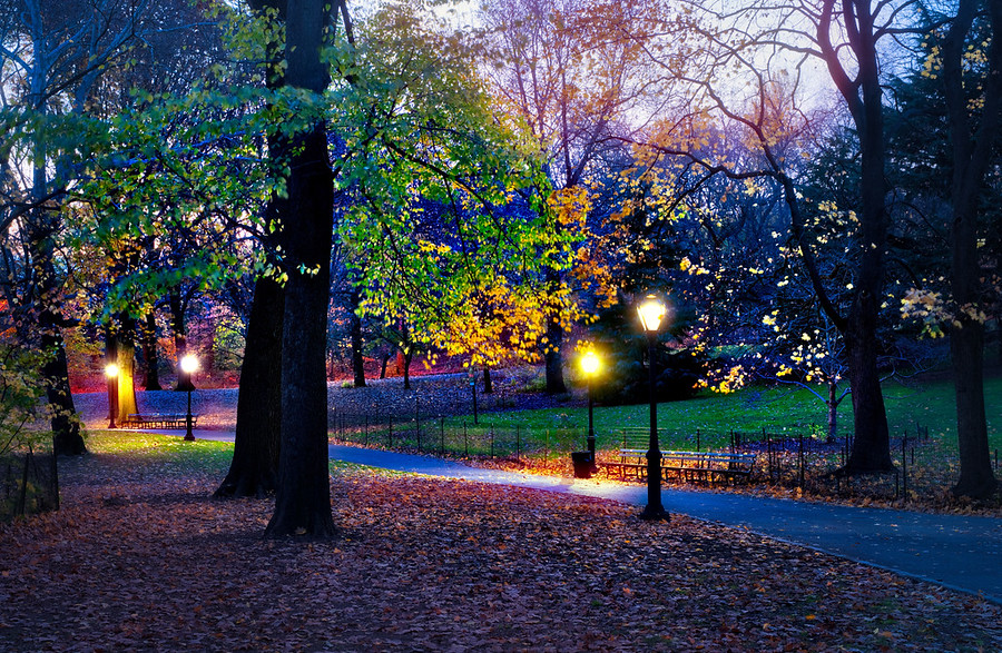 Central Park, Made with Aurora HDR 2017
