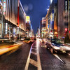 "<h2>Ginza, Tokyo in the Rain</h2> <br/>It had been raining all afternoon and it continued right through dusk.  Luckily, the D3X seems impervious to rain, ice, sleet, and snow (deep experience in all four), so I just ignored all the elements in this case too.<br/><br/>Ginza is a really cool, upscale area of Tokyo.  The buildings are huge and gleaming with every possible color.  It comes alive right at dusk.  I ran out into the middle of the street to do my best to capture all the action of the scene.<br/><br/>- Trey Ratcliff<br/><br/><a href=""http://www.stuckincustoms.com/2010/04/26/ginza/"" rel=""nofollow"">Click here to read the rest of this post at the Stuck in Customs blog.</a>"
