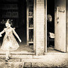 Little Girl And Thought