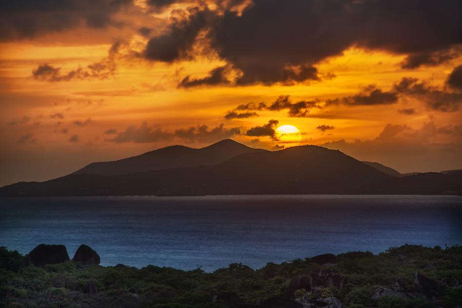 Island Sun Sunset