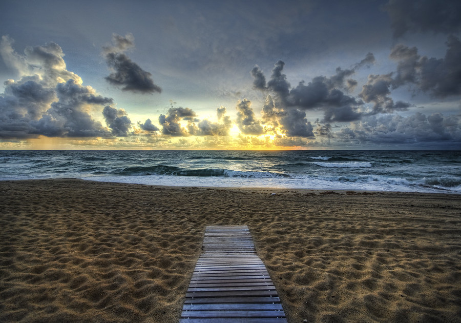 The Lonely but Beautiful Path West Palm Beach Florida