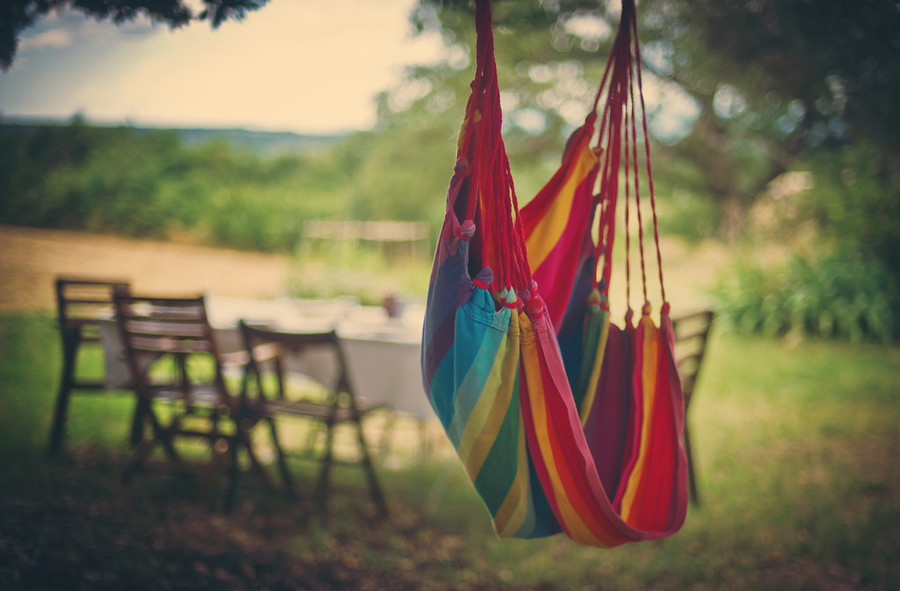 Hammock France Colorful