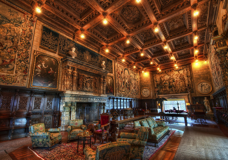 "<h2>Inside Hearst Castle</h2> <br/>It's been a while since I've posted any photos from Hearst Castle, but this one stuck out to me. These rooms are so ridiculous in a way, yes? I mean, even if I had all the money in the world, I don't think I'd ever want a room like this in my house! It's so formal and unlivable… I prefer something a bit more comfy!<br/><br/>- Trey Ratcliff<br/><br/><a href=""http://www.stuckincustoms.com/2013/01/07/inside-hearst-castle/"" rel=""nofollow"">Click here to read the rest of this post at the Stuck in Customs blog.</a>"