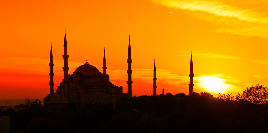 Beautiful Istanbul at Sunset