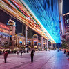 "<h2>The Digital Aurora Borealis</h2> There's not many places where you can get a colorful sky in the middle of the night.  China seems to be one of the best places to have these strange digital phenomenon.    This place is called ""The Place.""  It ranks right up there with some of the other awful names of Chinese locations.  They should hire a poet or two so these places can sound more exotic.  I'd be happier if it was called ""Tomorrow Sky"" or ""The Sea of Matrix.""  - Trey Ratcliff  Read more <a href=""http://www.stuckincustoms.com/2011/12/11/the-digital-aurora-borealis/"">here</a> at the Stuck in Customs blog."