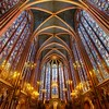 "<h2>The Light</h2> La Sainte-Chapelle is really an amazing place.  I can't believe it took me so many trips to Paris to finally see it.  It wasn't exactly a blind-spot, but I knew it was some place that I had to visit at some point, and I finally got there.  Tripods were forbidden, so I decided to use a tripod to get a shot.    I did manage to squeeze off several rounds until security came up to make me stop.  Of course, the only reason I ignore their rule is because I think it is does not have a solid foundation in logic or rational thought.  I wasn't bothering anyone.  I wasn't going to trip anyone because of the configuration of my tripod and body.  Everything was cool.  - Trey Ratcliff  Read more <a href=""http://www.stuckincustoms.com/2011/09/23/the-light/"">here</a> at the Stuck in Customs blog."
