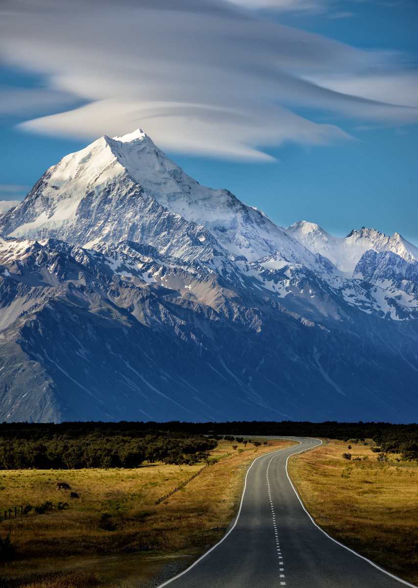 What Does The Road Look Like on the Way to Mount Cook? It looks like this. :)- Trey RatcliffClick here to read the rest of this post at the Stuck in Customs blog.