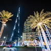 Nightwalk around the Burj Khalifa