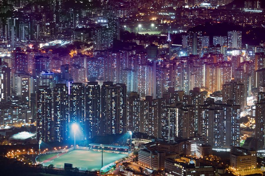 Blade Runner in Hong Kong