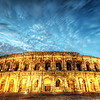 "<h2>The Roman Gladiators of Gaul</h2> Nimes has some very well preserved Roman ruins.  There is a huge park area that has stone walkways over ancient Roman waterways and this colosseum structure in the middle of town.  One of the coolest things about this colosseum is that it is still used on a regular basis!  When we were there, they were having a bullfight inside the arena.  I have some pictures of the aftermath, including trails of blood in the sand...  It's fairly graphic, but you'll have something new to see in coming weeks when I get around to processing those!  Read more <a href=""http://www.stuckincustoms.com/2010/09/28/the-roman-gladiators-of-gaul/"">here</a> at stuckincustoms.com."
