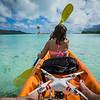 Kayaking to the Deserted Island