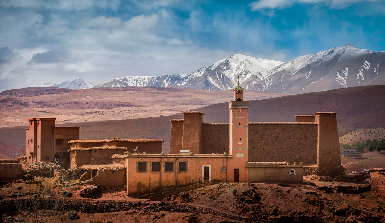 A Mosque in the Atlas Mountains