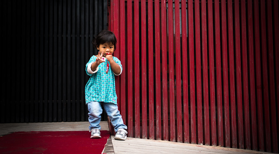 A Child in a New Hutong