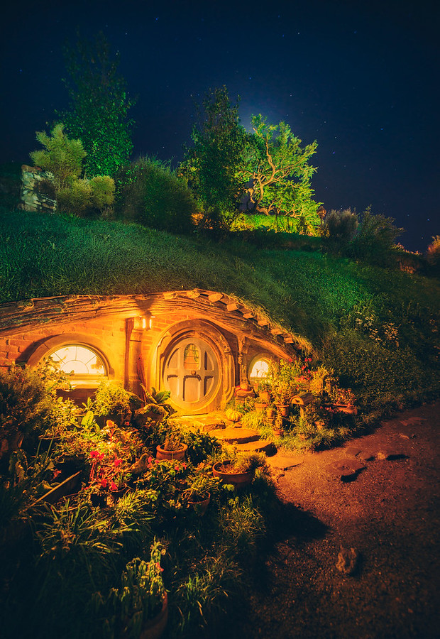 A Hobbit Hole in the Night