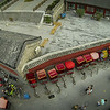 Looking Down From the Bell Tower in Beijing