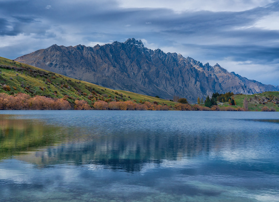 The Remarkables Across from Lake Johnson