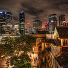 """<h2>Downtown Sydney from the Rocks</h2> <br/>The Rocks is the oldest part of Sydney, and it's down by the harbour. I have to make sure I get the """"u"""" in there to appease local sensitivities. Anyway, it's a cool area full of a lot of old-world charm. Now there are a lot of restaurants, bars, and little hotels that are sprinkled around the area.<br/><br/>I took this one from the top of a 3-story salsa bar. I didn't even really go into the bar, except for the way to find the top of it! I looked quite strange walking around the salsa dancefloor to get to the other side, dancing with my tripod!<br/><br/>- Trey Ratcliff<br/><br/><a href=""""http://www.stuckincustoms.com/2013/01/22/downtown-sydney-from-the-rocks/"""" rel=""""nofollow"""">Click here to read the rest of this post at the Stuck in Customs blog.</a>"""