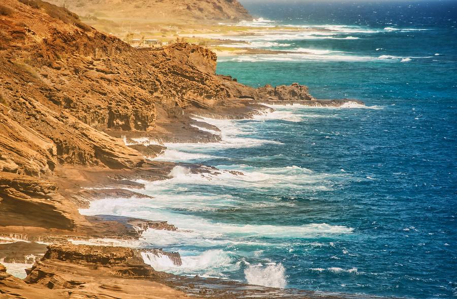 Hawaii Oahu Coast