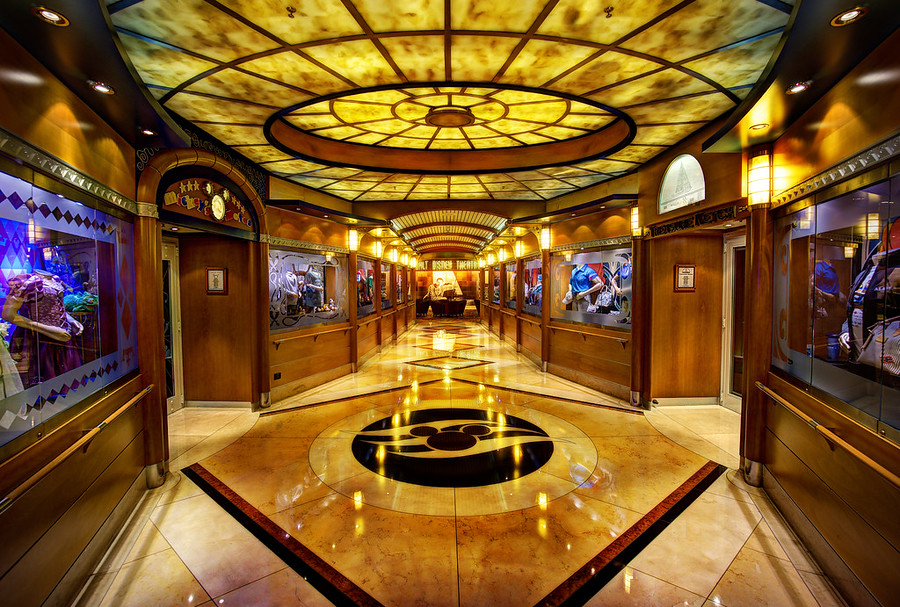 The Walt Disney Theater on the Disney Wonder