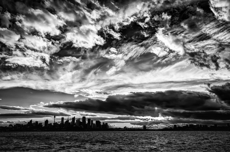 "<h2>Sydney Harbour Under Mountains of Clouds</h2> <br/>This might have been the last shot I took with my Nikon D800 before the wind blew it over to destroy it. It turned out that I could not repair it, so I had to buy another D800. Sad Trey. I hope the shot was worth it… many Bothans died to bring you this photo… :)<br/><br/>- Trey Ratcliff<br/><br/><a href=""http://www.stuckincustoms.com/2013/01/28/sydney-harbour-under-mountains-of-clouds/"" rel=""nofollow"">Click here to read the rest of this post at the Stuck in Customs blog.</a>"