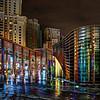 Rainy Colors in Dubai