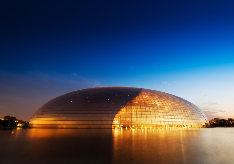 """<h2>The Resting Egg</h2> <br/>National Centre for the Performing Arts in China is one of the easiest AND most challenging things to photograph. This is an interesting duality, I think. Obviously, it's a beautiful structure, and it's easy to access and circumnavigate, but that is not the """"easy"""" that I mean. I suppose it's easy because it's hard to take a bad picture of the the structure. The challenging bit is doing something very interesting. And that comes with the use of light and composition. I have hundreds of photos of this thing — and the challenging part to me is picking """"the most interesting"""" — it's a fun task that never gets old!<br/><br/>- Trey Ratcliff<br/><br/><a href=""""http://www.stuckincustoms.com/2012/10/11/the-resting-egg/"""" rel=""""nofollow"""">Click here to read the rest of this post at the Stuck in Customs blog.</a>"""