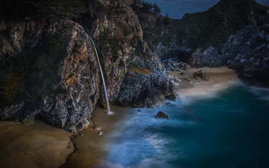 McKay Falls in Big Sur