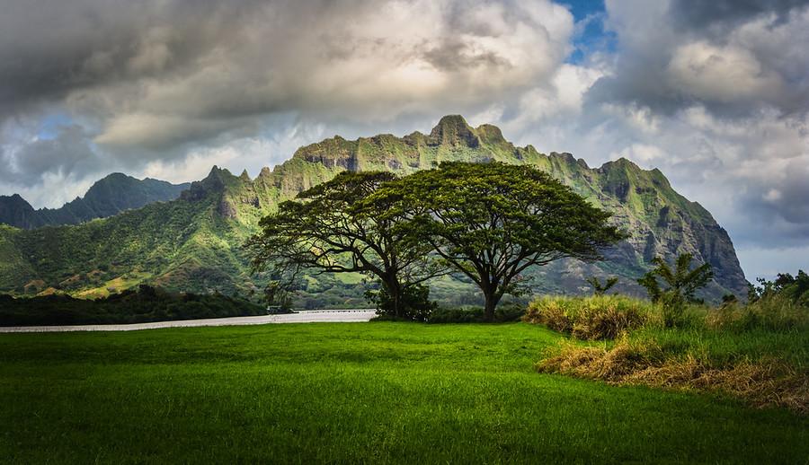 Lost cliffs oahu Hawaii