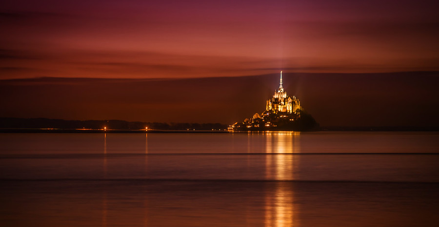 Mont Saint Michel in Repose