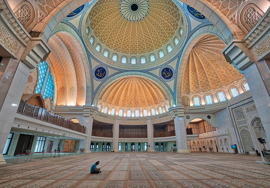 Alone in the Mosque