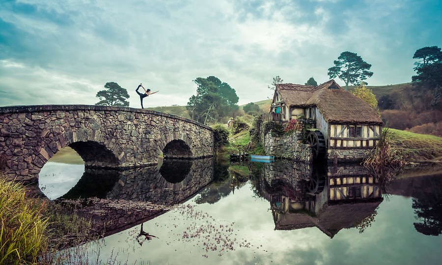 Yoga in Hobbiton