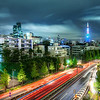 "<h2>The Lights of Japan</h2> <br/>One evening I was walking around Roppongi, taking in all the sights.  There doesn't seem to be a bad direction to go.  Everything was alive and full of life.<br/><br/>Getting into this particular position took a few Cirque de Soliel moves that no one was around to appreciate (or warn me against).  There is a pedestrian set of stairs that blindly switchbacks its way up an outside drum-tower of sorts.  I had a feeling that on top of this little tower would be a good vantage in this particular direction, which I had not seen, but I had mapped out in my brain.  I did one of those moves like children do when they work their way up a doorframe -- but I did it in a narrow stairwell.  It got me to the top, which was extra-difficult with the tripod!   I ended up with a clean view of everything.  But then, only then, did I start to wonder how the heck I was going to get back down.<br/><br/>I waited for a nice-looking stair-walker to pass by underneath, and then I handed down my camera before performing an unceremonious jump/fall.<br/><br/>- Trey Ratcliff<br/><br/><a href=""http://www.stuckincustoms.com/2011/03/21/the-lights-of-japan/"" rel=""nofollow"">Click here to read the rest of this post at the Stuck in Customs blog.</a>"