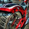 """<h2>The Red Hiney, Presenting</h2> <br/>One of the phattest rear tires I've seen.<br/><br/>- Trey Ratcliff<br/><br/><a href=""""http://www.stuckincustoms.com/2006/07/04/many-more-motorcycles/"""" rel=""""nofollow"""">Click here to read the rest of this post at the Stuck in Customs blog.</a>"""