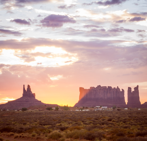 A Beautiful Morning In Monument Valley