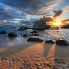 """<h2>A Tropical Sunset</h2> <br/>I did a lot of snorkeling out in that bay. This whole area of Virgin Gorda is called The Baths, and it has some of the best beaches in the world. There are basically no waves of any consequence. So, if you're just learning to snorkel, it's a perfect environment. The kids had a lot of fun here too… lots of private little alcoves and caves!<br/><br/>- Trey Ratcliff<br/><br/><a href=""""http://www.stuckincustoms.com/2013/05/18/a-tropical-sunset/"""" rel=""""nofollow"""">Click here to read the rest of this post at the Stuck in Customs blog.</a>"""