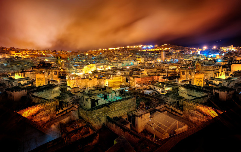 Fes in the Night