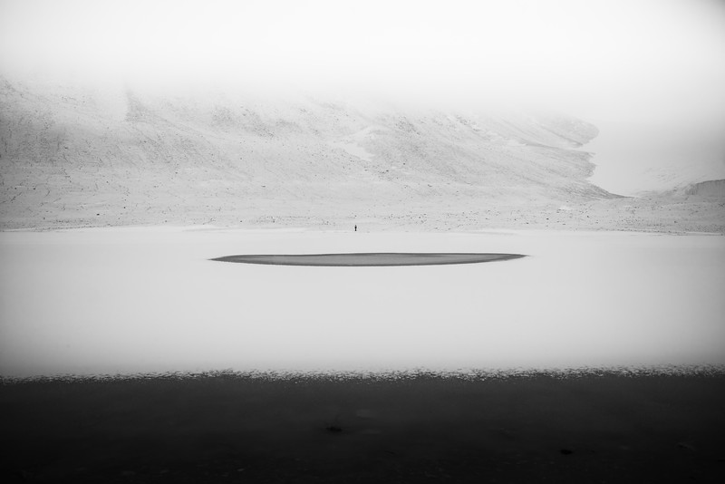 Alone in the Vast Expanse of Antarctica