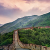 The Sun Sets On The Great Wall
