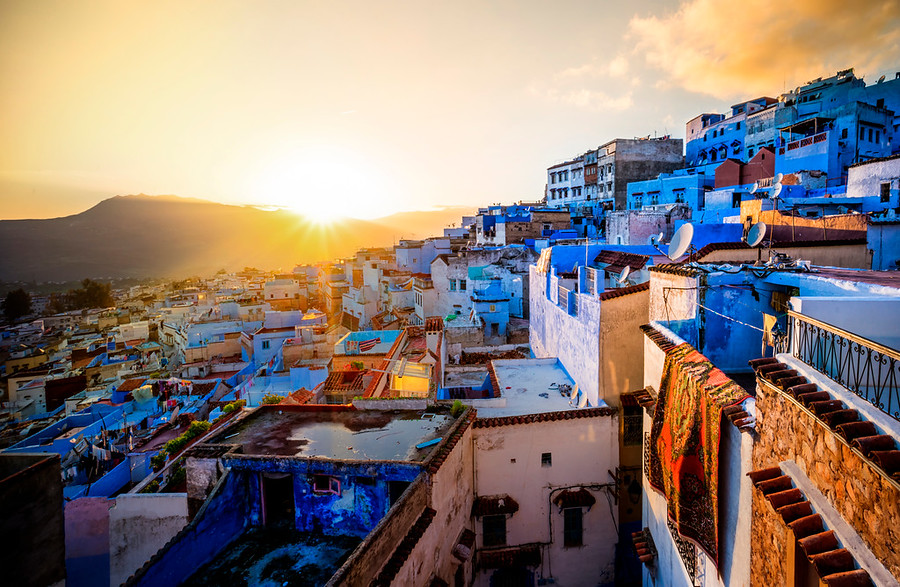 Chefchaouen From Above