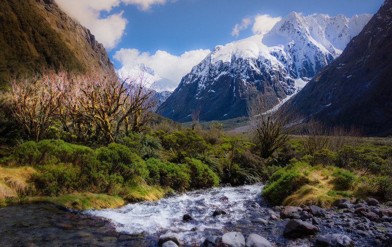 "<h2> Crossing Monkey Creek</h2> <br/>As you drive into Milford Sound, you may well decide that the drive itself is better than the destination. And that's saying a lot, believe me! <br/><br/>I think one of the best unofficial hikes is right around Monkey Creek here. It's certainly worth parking your car and spending a few hours walking around the area. Even without your camera, it's still a feast for the eyes. <br/><br/>- Trey Ratcliff<br/><br/><a href=""http://www.stuckincustoms.com/2012/11/18/32583/"" rel=""nofollow"">Click here to read the rest of this post at the Stuck in Customs blog.</a>"