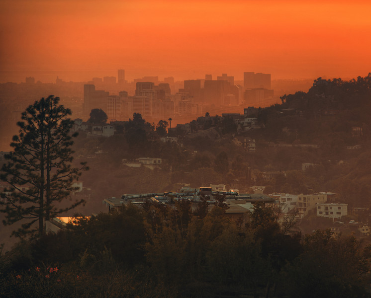 """<h2>Century City</h2> <br/>When I stayed with Tom earlier last week, we went up the hill from his home to take a few photos of the sunset.  One area looks towards downtown, and the other looks towards Century City, Hollywood, and the Pacific ocean beyond.<br/><br/>- Trey Ratcliff<br/><br/><a href=""""http://www.stuckincustoms.com/2011/12/28/century-city/"""" rel=""""nofollow"""">Click here to read the rest of this post at the Stuck in Customs blog.</a>"""