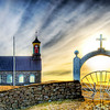 "<h2>Another Sunday in Iceland</h2> <br/>This is a really nice little church by a graveyard in the south of Iceland. It was pretty much out in the middle of nowhere, as you can tell. The gate with the cross on the top leads to a tiny and lonely graveyard.<br/><br/>- Trey Ratcliff<br/><br/><a href=""http://www.stuckincustoms.com/2008/10/12/another-sunday-in-iceland/"" rel=""nofollow"">Click here to read the rest of this post at the Stuck in Customs blog.</a>"