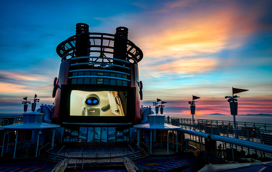 Beautiful Pictures Of The Disney Cruise Lines By Trey Ratcliff - Cruise ship movie