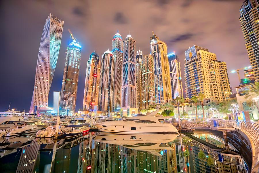 Trey Ratcliff - Yachts in Dubai - More Masking